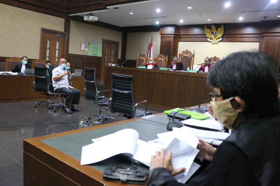 JPU Hadirkan Kepala Proyek Tri Mulyo Wibowo Sebagai Saksi di Sidang Lanjutan Proyek Fiktif Waskita Karya-0
