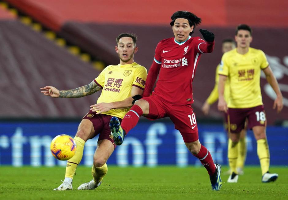 Burnley Permalukan Liverpool di Anfield 1-0-0