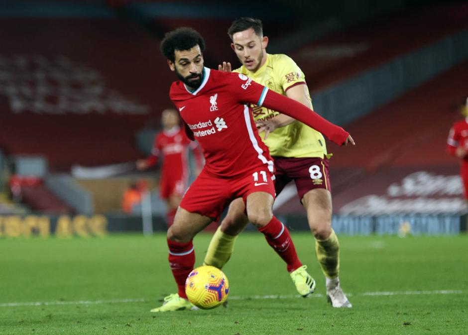 Burnley Permalukan Liverpool di Anfield 1-0-2