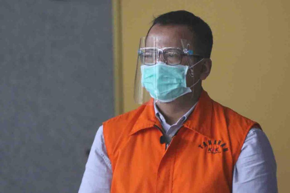 KPK Perpanjang Masa Tahanan Mantan Menteri KKP Edhy Prabowo-0