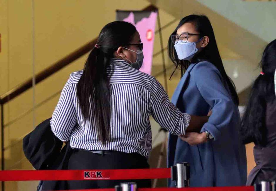 Komisaris PT Rajawali Parama Indonesia Daning Saraswati Jalani Pemeriksaan Lanjutan di KPK-3