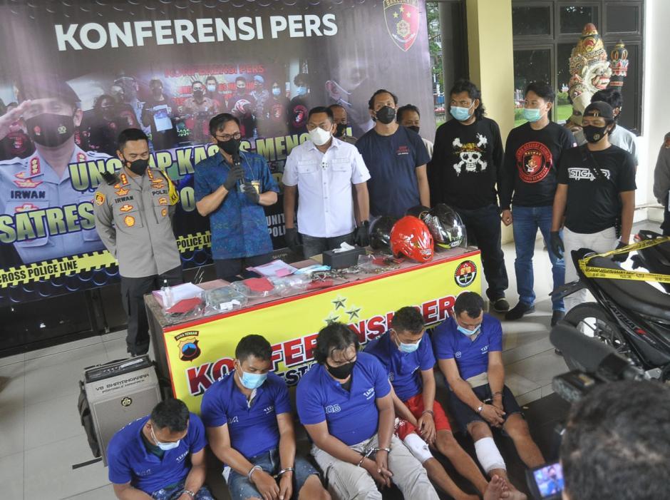 Disergap di Ciamis, Komplotan Perampok Setengah Miliar di Semarang Tertangkap-5