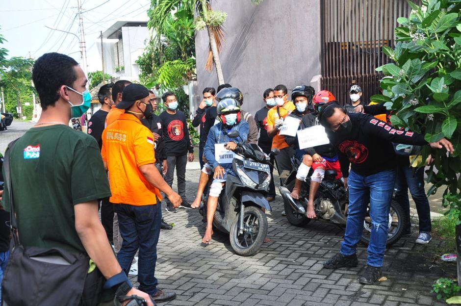 Polisi Gelar Reka Ulang Aksi Perampokan Setengah Miliar di Semarang-2