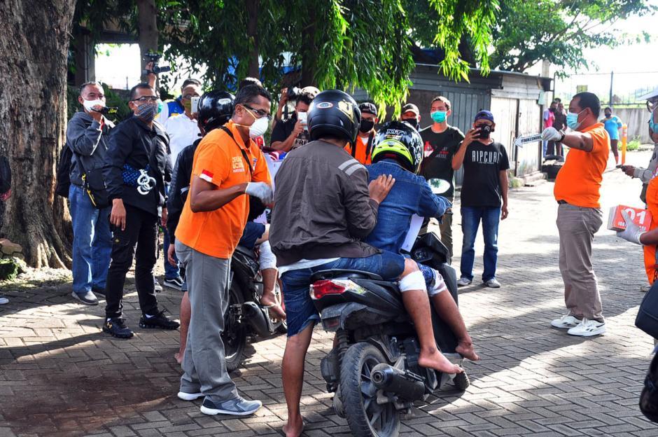 Polisi Gelar Reka Ulang Aksi Perampokan Setengah Miliar di Semarang-1