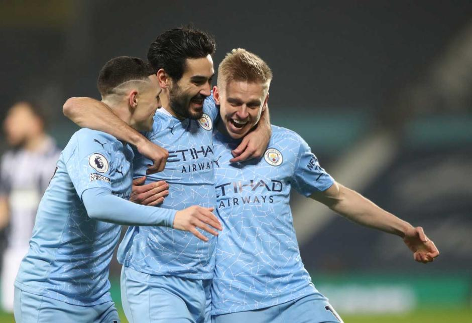 Pesta Gol, Man City Geser Man United di Puncak Klasemen-3