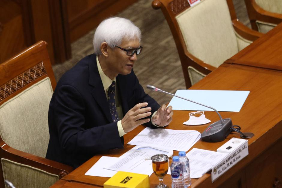Diduga Lakukan Plagiat, Komisi III Hentikan Fit Propert Test Calon Hakim Agung TUN Triyono Martanto-3