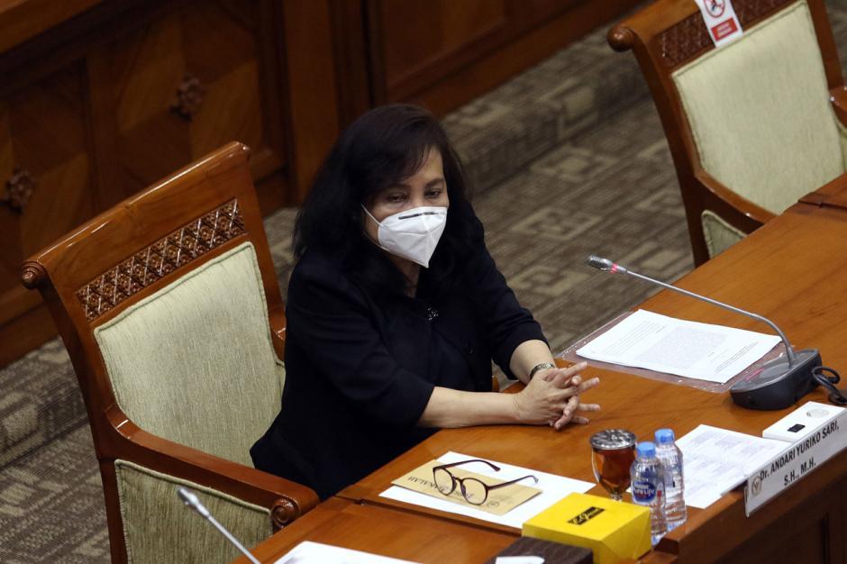 Andari Yuriko Ikuti Fit and Proper Test Calon Hakim Agung Ad Hoc Hubungan Industrial-4