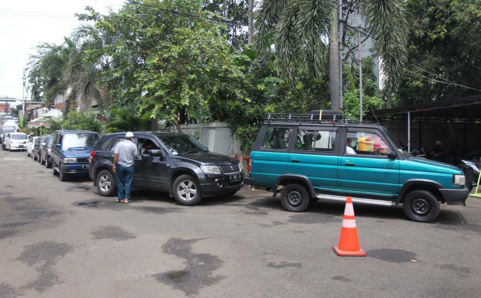 Pemilik Kendaraan Antusias Ikuti Uji Emisi Gratis-4