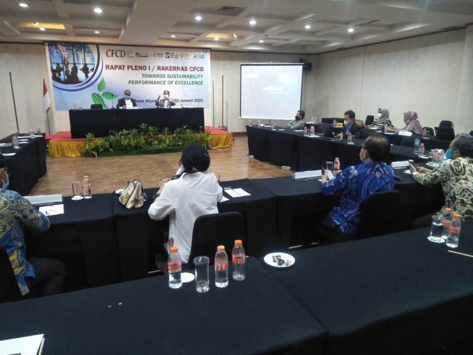 Kepengurusan CFCD Periode 2020-2023, Pemberian Award Diharapkan Semakin Berkualitas-1