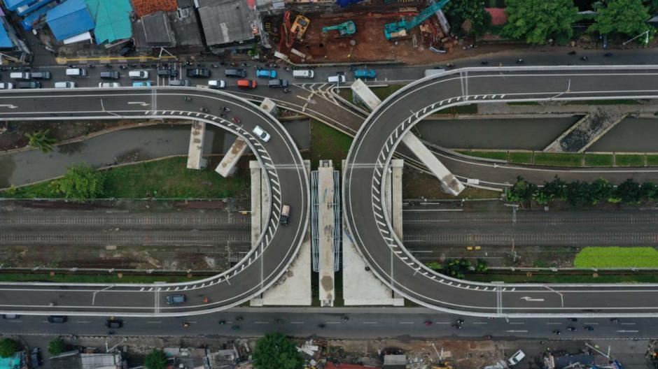 Begini Penampakan Jalan Layang Tapal Kuda yang Bernilai Rp143 Miliar-6