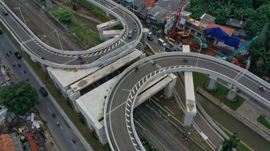 Begini Penampakan Jalan Layang Tapal Kuda yang Bernilai Rp143 Miliar-0