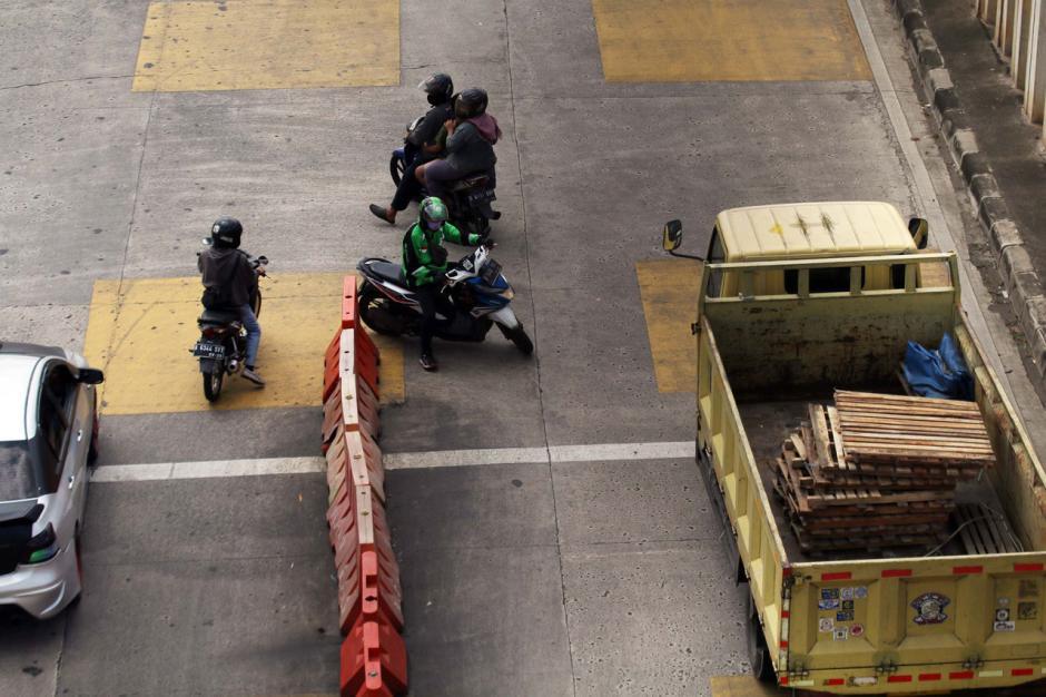 Dishub DKI Jakarta Akan Lakukan Penyesuaian Jalur Masuk Gerbang Tol Ciledug-1