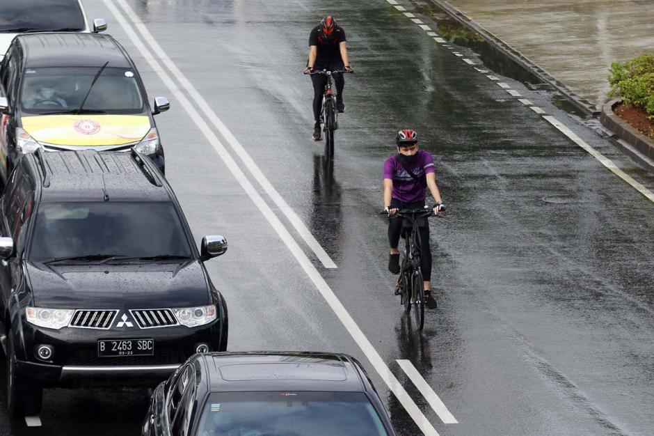 Pemprov DKI Akan Permanenkan Jalur Sepeda di Jalan Sudirman-Thamrin-0