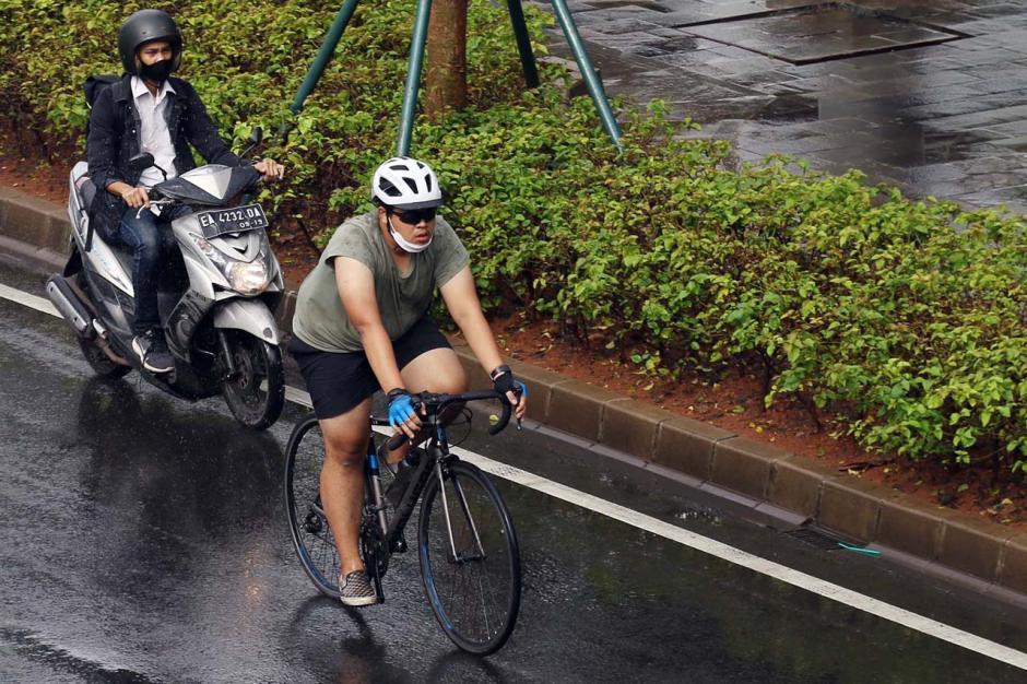 Pemprov DKI Akan Permanenkan Jalur Sepeda di Jalan Sudirman-Thamrin-2
