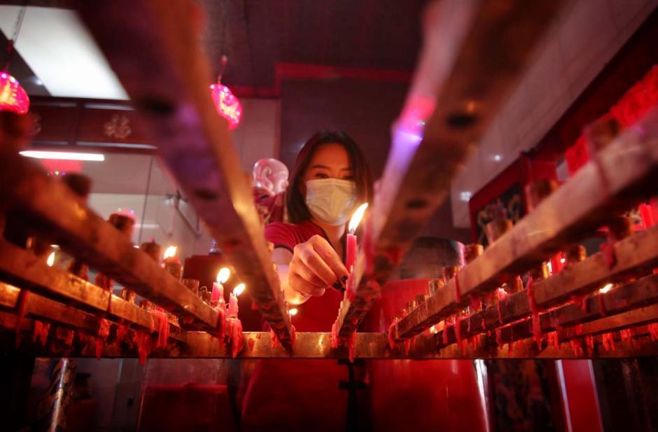 Perayaan Imlek di Makassar Digelar Secara Sederhana Namun Khidmat-7