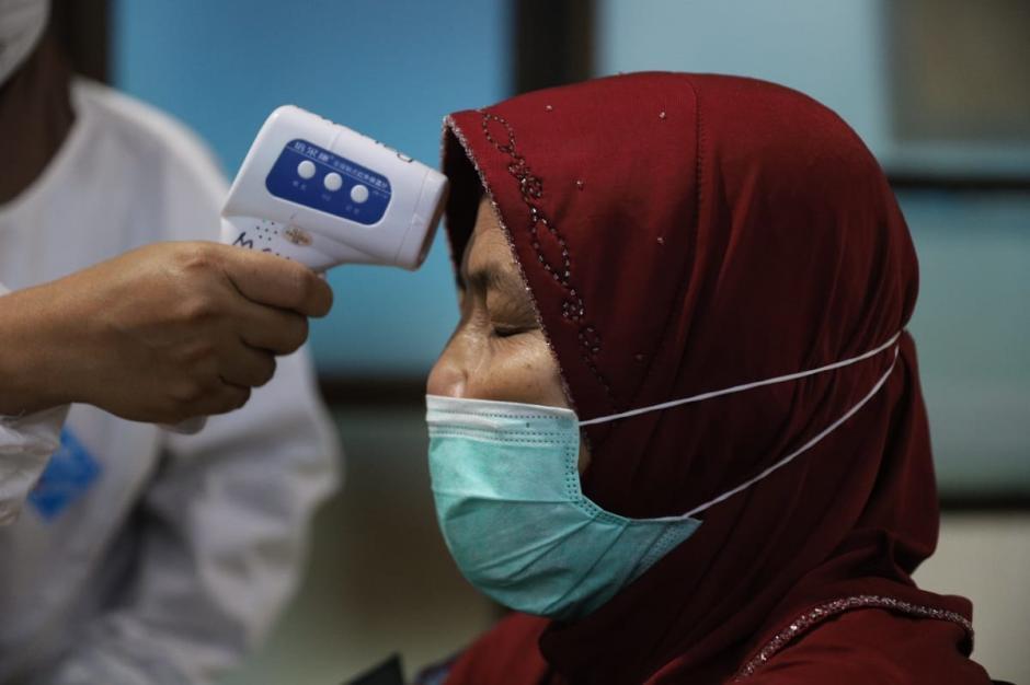 Rusminah, Lansia Pertama Penerima Vaksin Covid-19 di Jakarta Utara-2