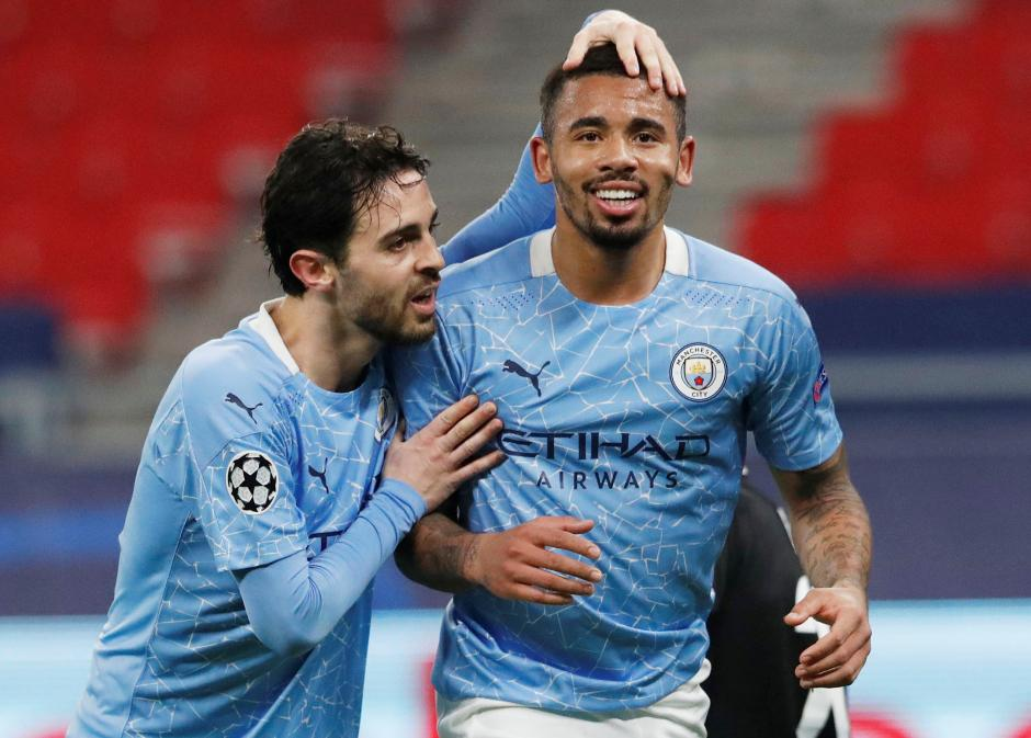 Babak 16 Besar Leg I Liga Champions : Manchester City Tundukkan Borussia Moenchengladbach 2-0-3