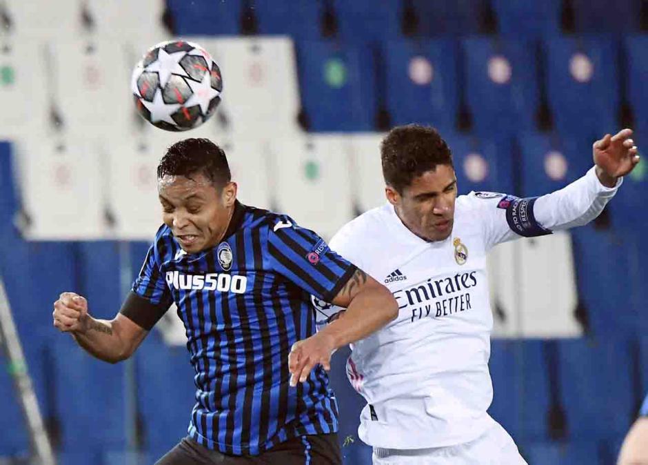 Gol Ferland Mendy Selamatkan Muka Madrid di Markas Atalanta-0