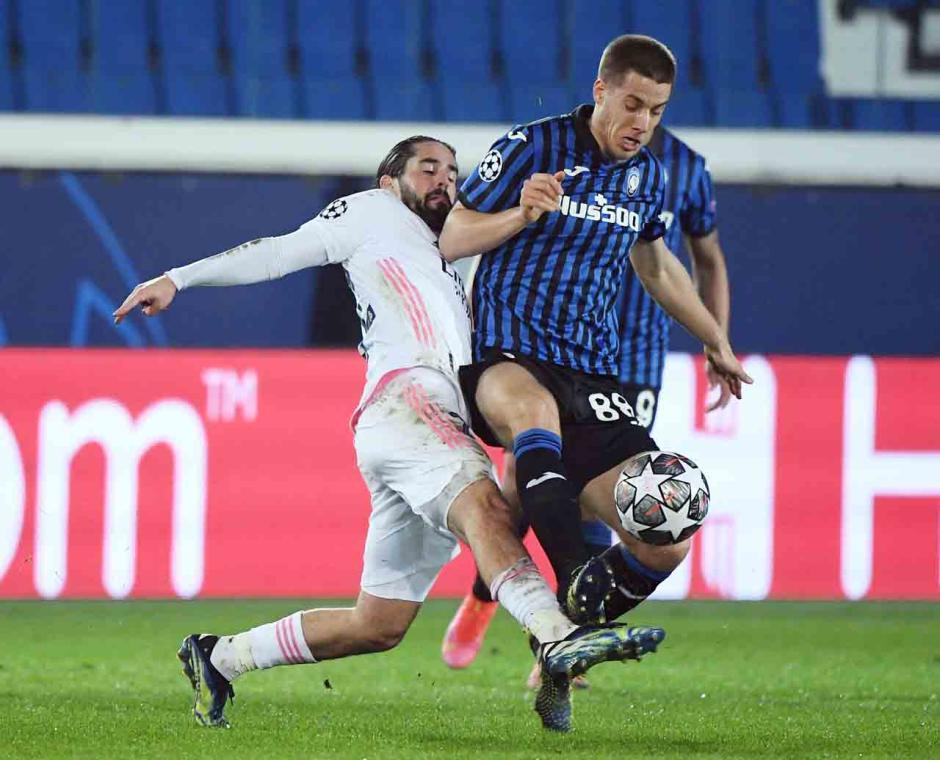 Gol Ferland Mendy Selamatkan Muka Madrid di Markas Atalanta-1