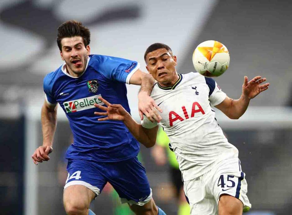 Menang Agregat 8-1 atas Wolfsberger, Spurs ke 16 Besar Liga Europa-2