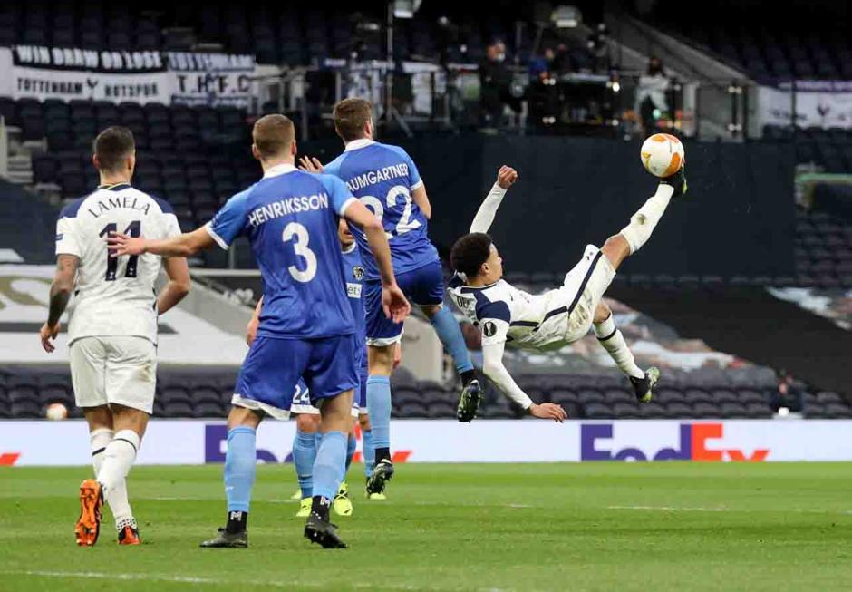 Menang Agregat 8-1 atas Wolfsberger, Spurs ke 16 Besar Liga Europa-0