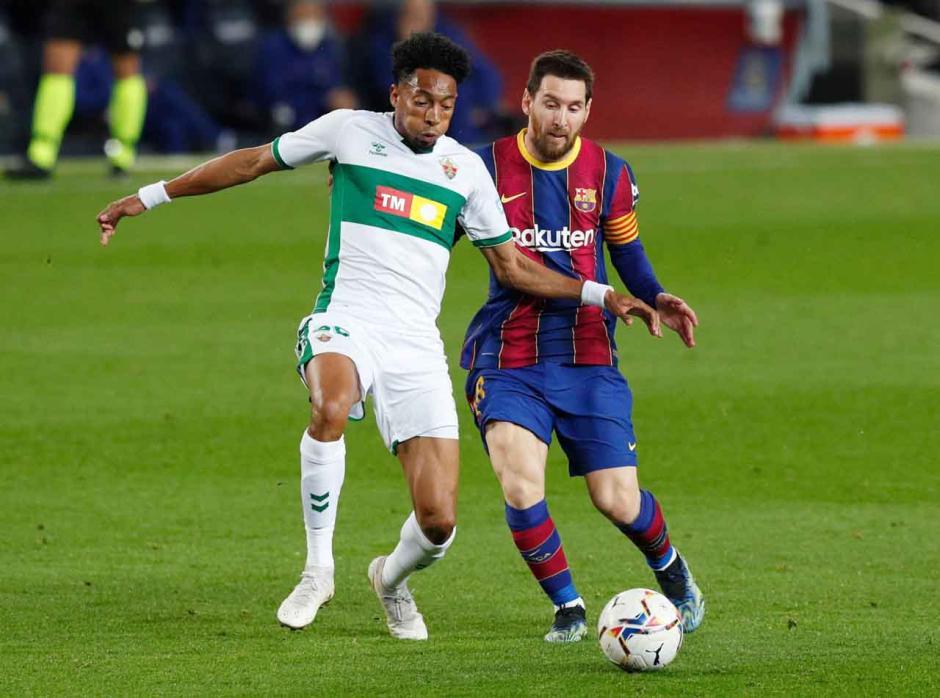 Borong Dua Gol, Messi Bawa Blaugrana Menang 3-0 atas Elche-3