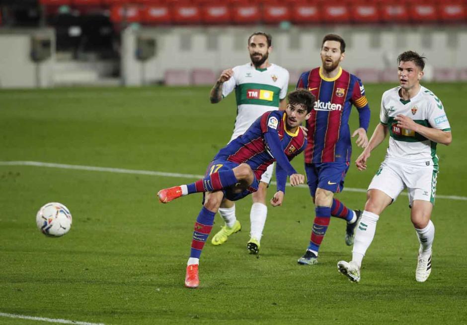 Borong Dua Gol, Messi Bawa Blaugrana Menang 3-0 atas Elche-0