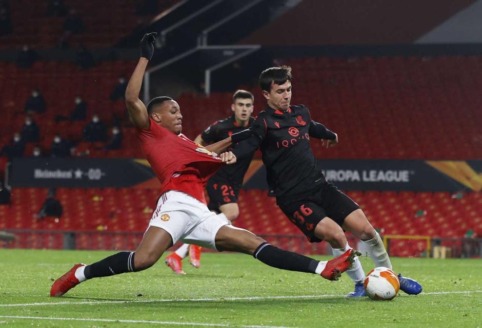 Imbang 0-0 Lawan Real Sociedad, Setan Merah Tetap Lolos ke 16 Besar-1