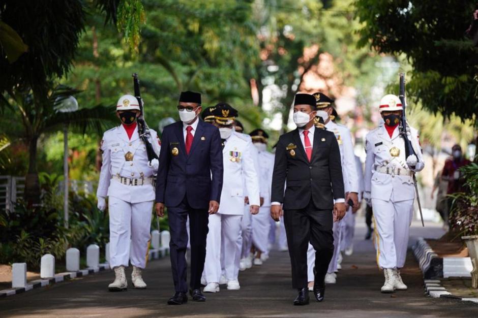Gubernur Sulsel Lantik 11 Kepala Daerah Hasil Pilkada 2020-2