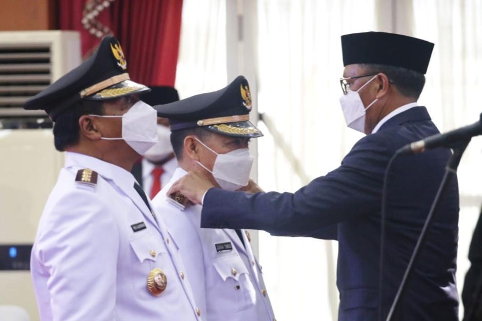Gubernur Sulsel Lantik 11 Kepala Daerah Hasil Pilkada 2020-3