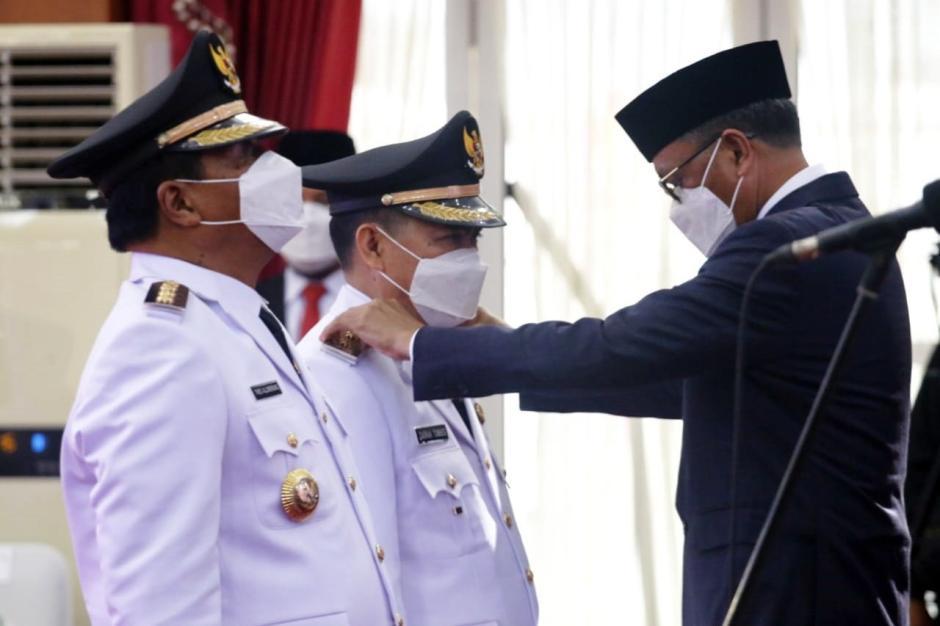 Gubernur Sulsel Lantik 11 Kepala Daerah Hasil Pilkada 2020-4