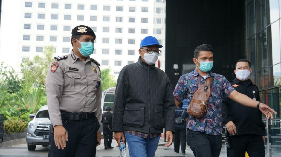 Tiba di KPK, Gubernur Sulsel Nurdin Abdullah Langsung Jalani Pemeriksaan-0