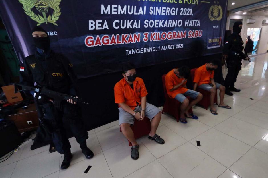 Bea Cukai Gagalkan Penyelundupan 3 Kg Sabu yang Disembunyikan dalam Barang Elektronik-2
