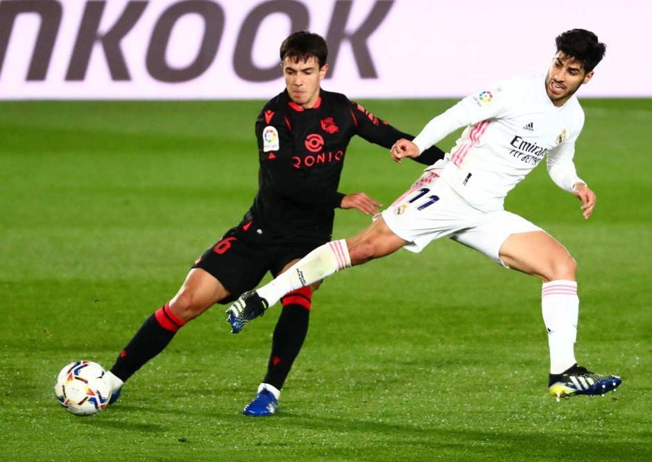 Real Madrid Ditahan Imbang Sociedad 1-1-0