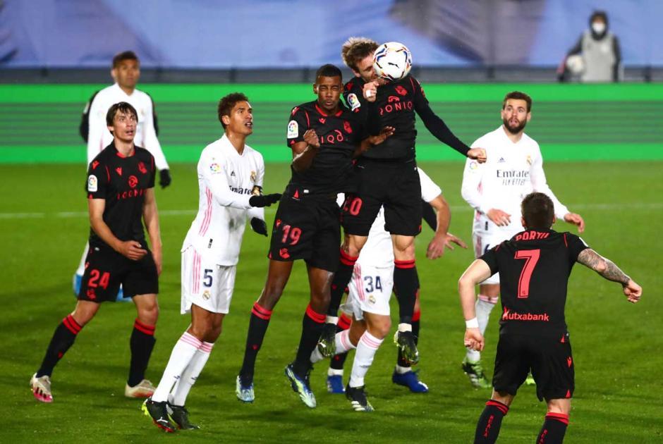 Real Madrid Ditahan Imbang Sociedad 1-1-1