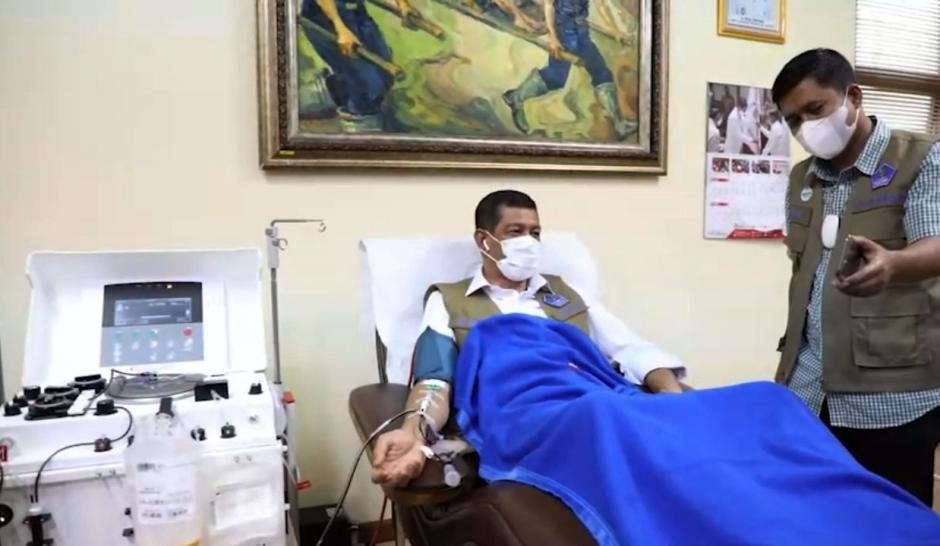 Doni Monardo Ajak Penyintas Covid-19 Jadi Donor Plasma Konvalesen-0