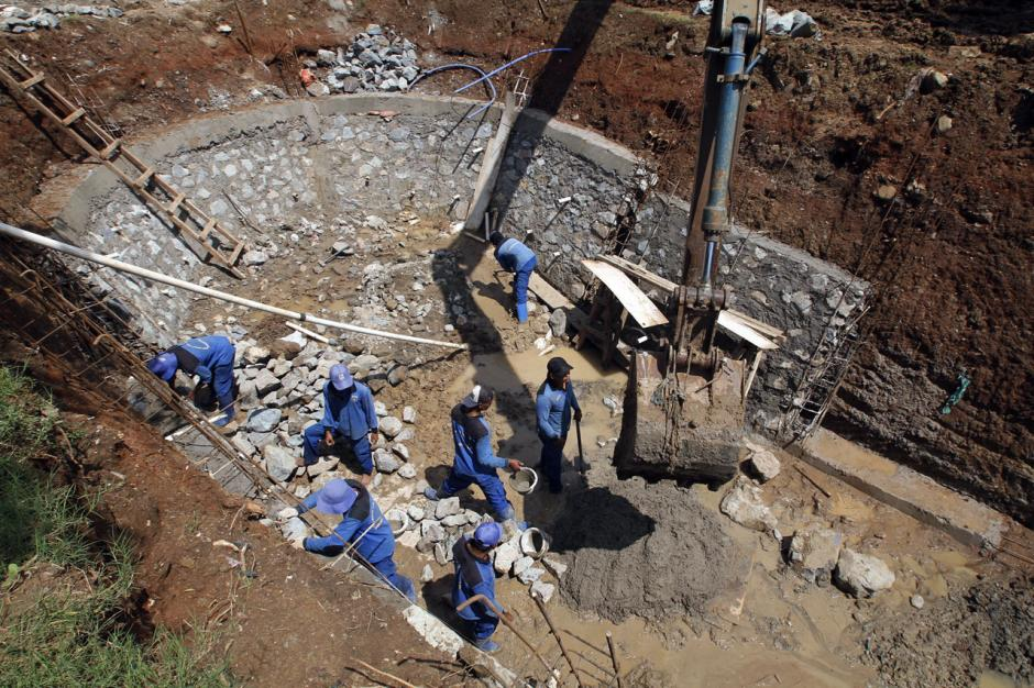 Antisipasi Banjir, Pemprov DKI Kebut Pembangunan Embung-2