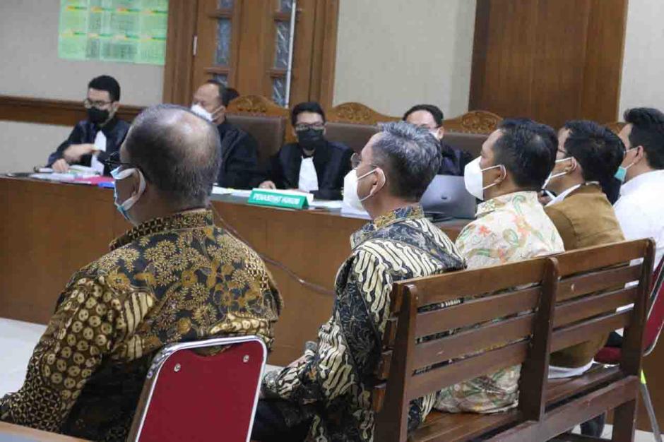 Sekjen dan Pejabat Kemensos Bersaksi di Sidang Suap Bansos Covid-19-0
