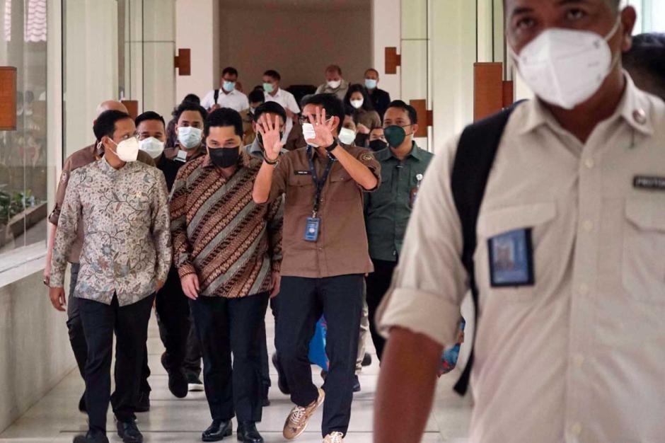 Ketemuan di Jakarta, Tiga Menteri Muda ini Bahas Potensi Pariwisata dan Kualitas Pendidikan-0