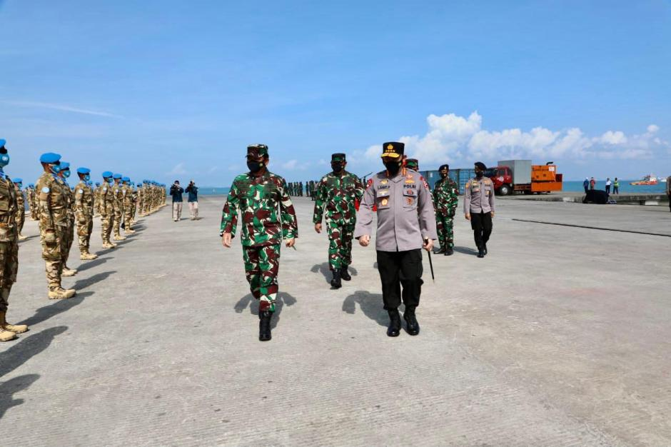 Panglima TNI Lepas Satgas Maritim TNI Konga XXVIII-M Bertugas ke Lebanon-2