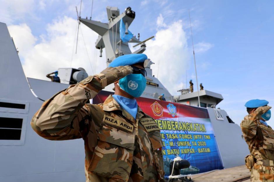 Panglima TNI Lepas Satgas Maritim TNI Konga XXVIII-M Bertugas ke Lebanon-4