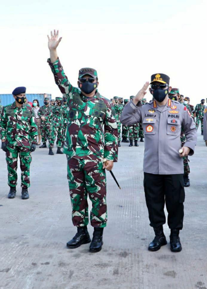 Panglima TNI Lepas Satgas Maritim TNI Konga XXVIII-M Bertugas ke Lebanon-1