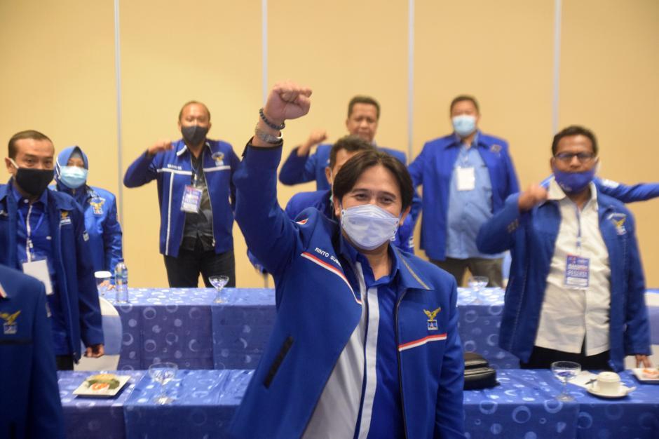 Solid Dukung AHY, Partai Demokrat Jateng Tolak Hasil KLB Deliserdang-2