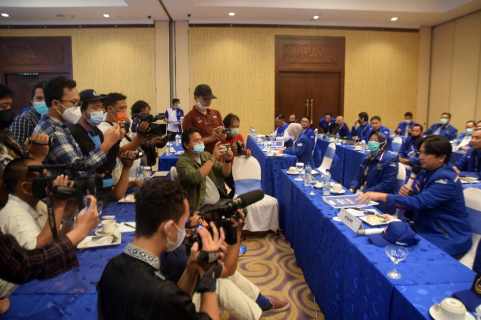 Solid Dukung AHY, Partai Demokrat Jateng Tolak Hasil KLB Deliserdang-3