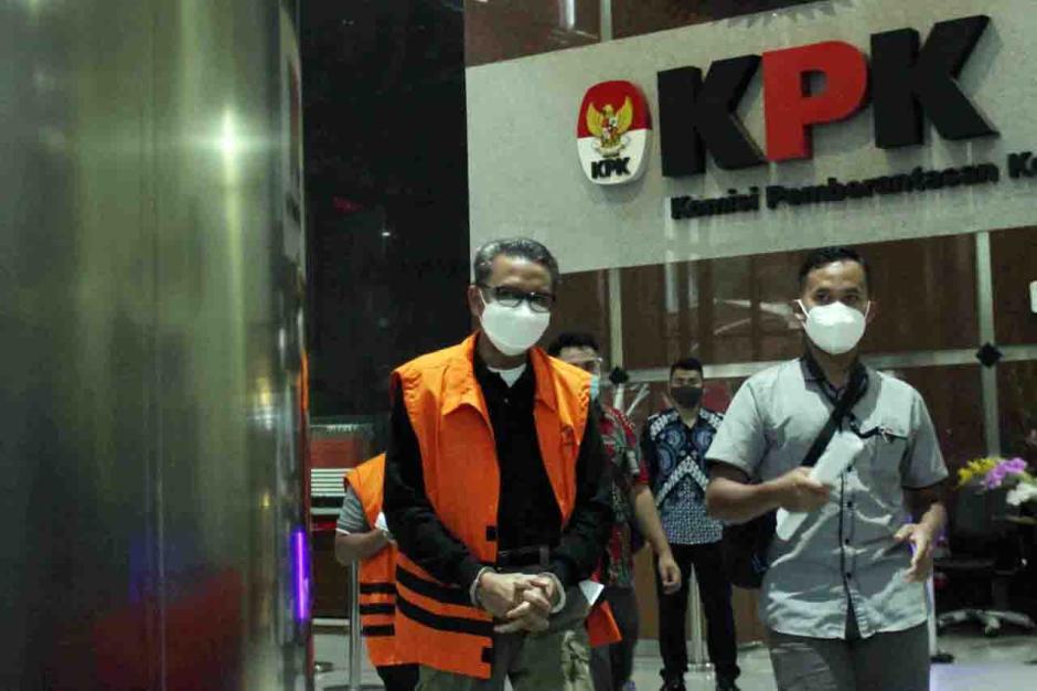 Pemeriksaan Perdana Gubernur Sulsel Non Aktif Nurdin Abdullah Pasca OTT-2