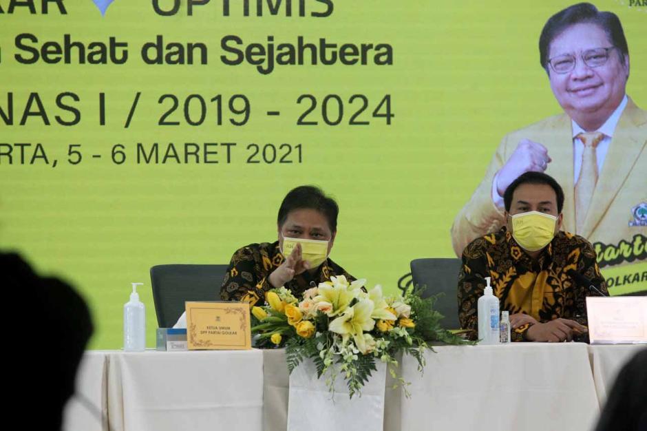 Airlangga Hartarto Tutup Rapimnas I Partai Golkar-2