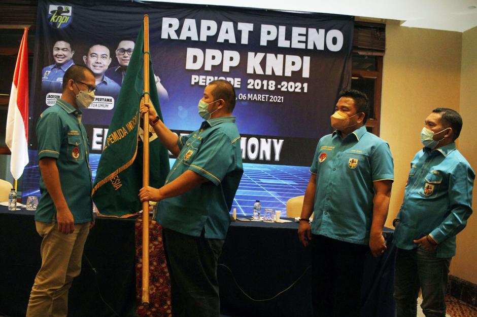 Rapat Pleno Putuskan Mustahuddin Jabat Plt Ketua Umum DPP KNPI-3