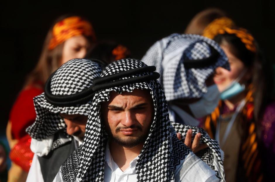 Warga Irak Sambut Paus Fransiskus di Bekas Pertahanan ISIS-2