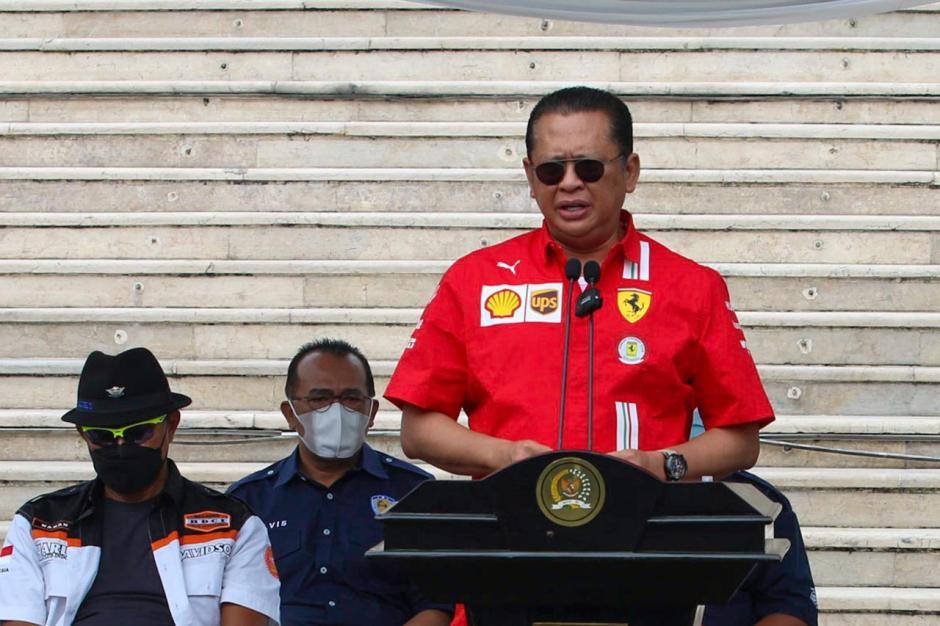 Bambang Soesatyo Lepas Peserta Tour de Bangka dan Branding 4 Pilar MPR-2
