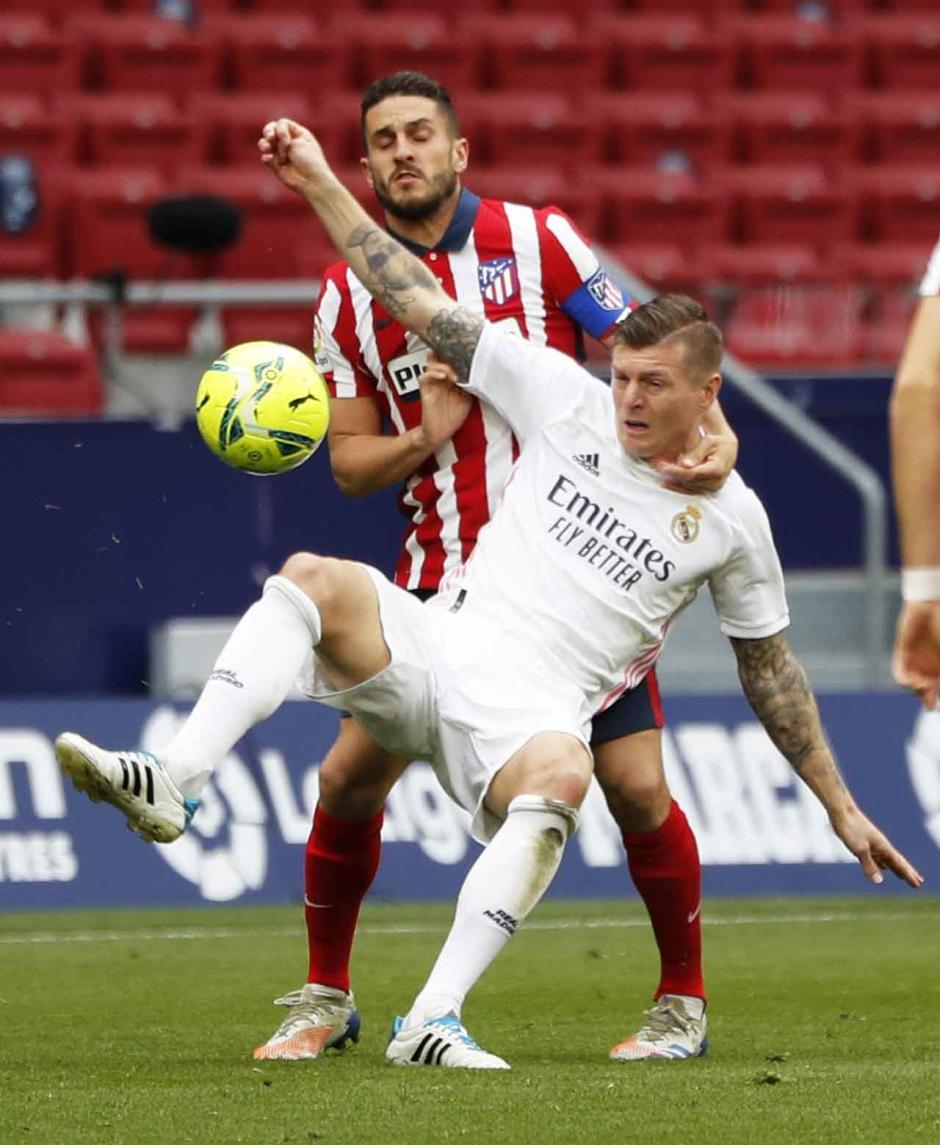 Derby Madrid Berakhir Imbang 1-1-1